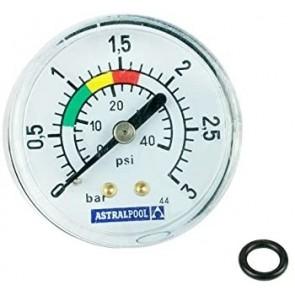 """Manómetro de 1/8"""" 3kg/cm2 AstralPool ref: 4404010103"""