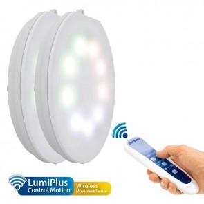 Lâmpada LumiPlus Flexi RGB Wireless AC 2 PL + 1 Control Motion