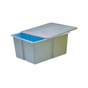 Depósito de compensação de poliéster - Capacidade 1000 litros