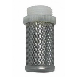 Filtro Inox Rosca Plástica