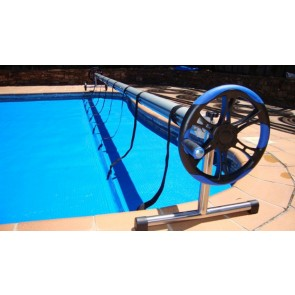 Enrolador para coberturas solares e térmicas até 500 g/m2