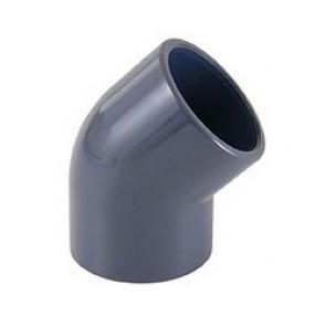 Joelho 45º PVC Colar