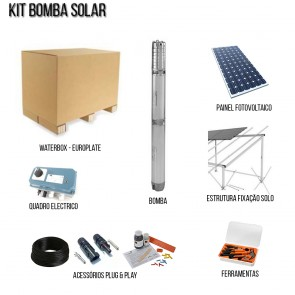 Kit Solar Bombas De Waterbox